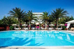 Swimming pool at luxury beach wedding hotel Abruzzo Italy