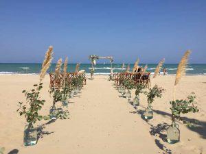 Silvi Marina Abruzzo legal beach ceremony for destination wedding