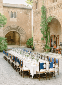 La Badia Dining in the Courtyard
