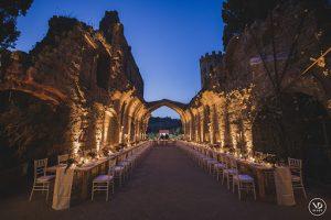 La Badia, Accommodation for 100 people wedding reception