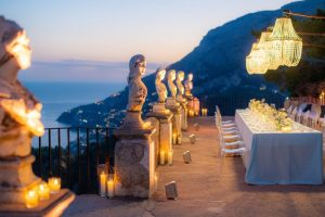 World famous antique villa and gardens, top class service and accommodation. Villa Cimbrone Ravello Amalfi Coast