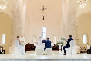 Vatican weddings and church ceremony in Rome.  Legal marriages and Catholic church blessings in Italy