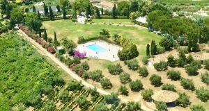 rural wedding venue pool gardens accommodation Italy
