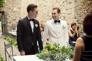 Same sex destination wedding, gay weddings in Italy on beaches, in villas, castles, vineyards and Rome