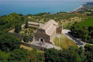 Catholic abbey for weddings in Italy in Fossacesia, Abruzzo