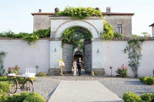 Villa wedding venue Casale 500 in Rome for weddings in Italy