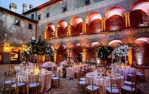 Castello di Odescalchi Bracciano - Luxury VIP exclusive hire near Rome for castle weddings in Italy