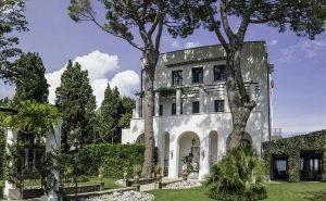 Stunning villa Amalfi coast marriage ceremony and wedding reception sea view Villa Eva Ravello