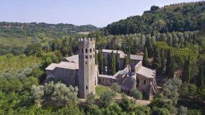 Ex monastery La Badia Orvieto in Umbria (Italy)