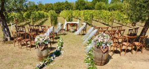 Castello di Semivicoli for vineyard weddings in Italy. Beautiful location for wedding ceremonies in a vineyard.