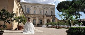 Wedding in Rome: Large luxury wedding venue Villa Aurelia central Rome