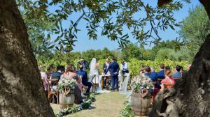 wedding venue in Italy offering official ceremonies in the vineyard