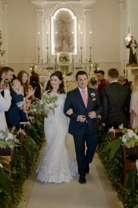 Catholic Church wedding in Abruzzo Italy including legal documentation. Castello di Semivicoli, Abruzzo
