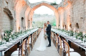 Abbey wedding venue and hotel with panoramic views of Orvieto. La Badia in Umbria Italy