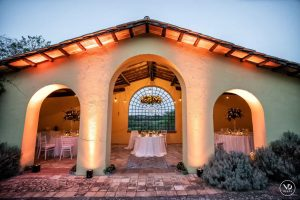 Antique Stables in Rome as a wedding location
