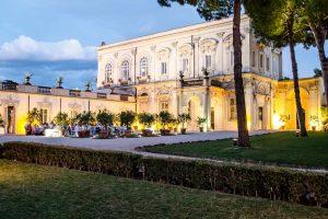 An external view of Villa Aurelia, grand villa for weddings in Italy