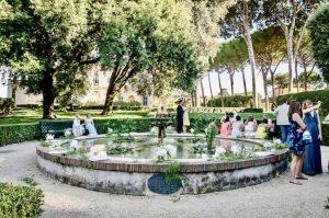 Villa Aurelia: Canapés & Drinks in Italian Gardens