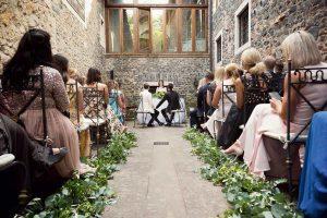Same sex marriage ceremony and destination gay weddings, Image of Castello della Castelluccia - Rome