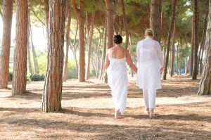 Beautiful wedding venues for same sex weddings in Italy.  Gay wedding planning in Rome, Abruzzo, Puglia, Tuscany, Sorrento