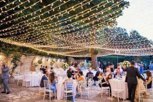 Coastal sea view wedding venue in Portonovo Marche, Italy.
